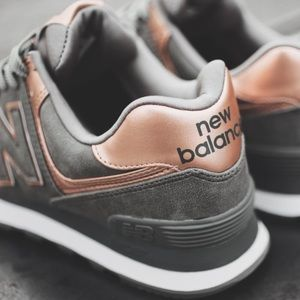 separation shoes 2d044 efb97 New Balance Shoes - New Balance 574 Precious Metals Grey Sneakers